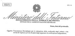 Disciplinare di valutazione per organismi di certificazione vigilanza privata