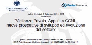 Vigilanza Privata, Appalti e CCNL: nuove prospettive di sviluppo ed evoluzione del settore