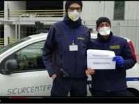 La Vigilanza Privata per l'Italia che soffre. un omaggio video di Sicurtransport